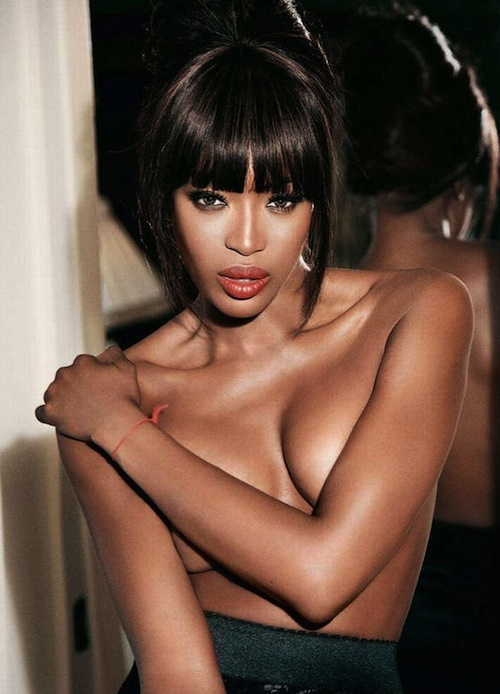 12 naomi campbell (mike tyson) - sports illustrated swimsuit models who dated athletes