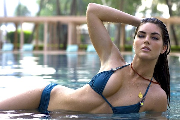 13 hilary rhoda (sean avery) - sports illustrated swimsuit models who dated athletes
