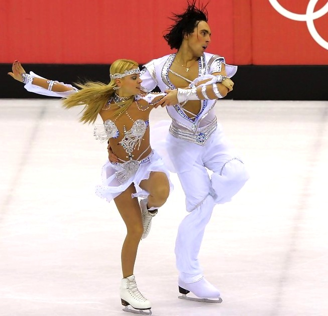 14 Ruslan+Goncharov+Elena+Grushina+Olympics - insane crazy weird figure skating costumes