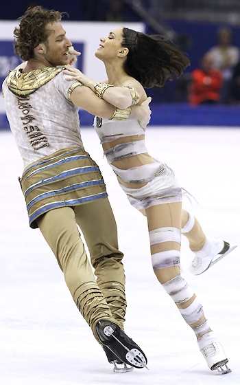 16 mummy - insane crazy weird figure skating costumes