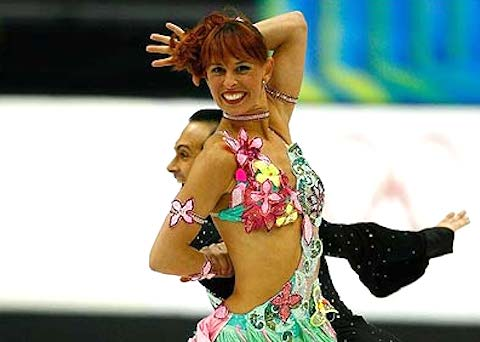 17 flower child - insane crazy weird figure skating costumes