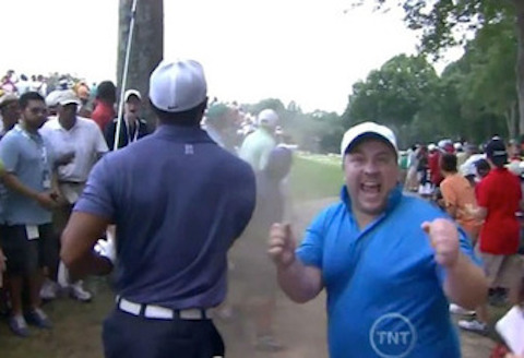 17 tiger woods photobombed
