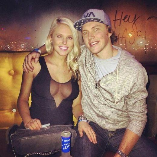 2 Lauren Cosgrove (T.J. Oshie fiancée) - NHL WAGs 2014