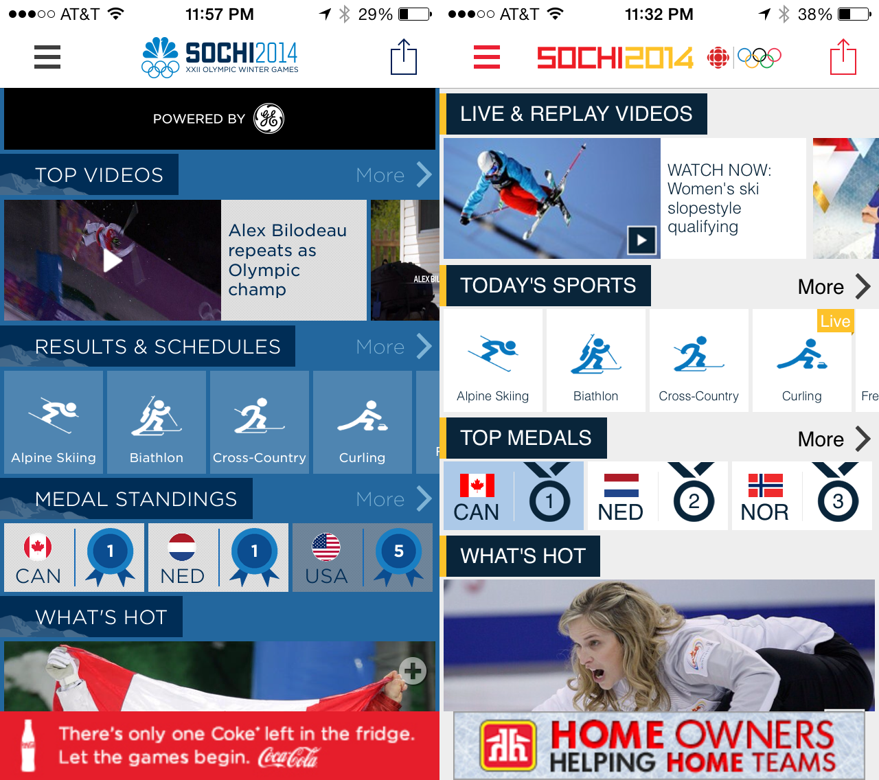 2 olympics apps - things we won't miss about sochi 2014 winter olympics
