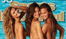 2014 Sports Illustrated Swimsuit Cover Unveiled, Featuring Nina Agdal, Lily Aldridge and Chrissy Teigen (Photo)