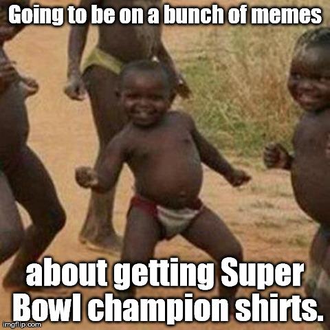 ae797205d 24 bunch of memes championship t-shirts - broncos super bowl commercials