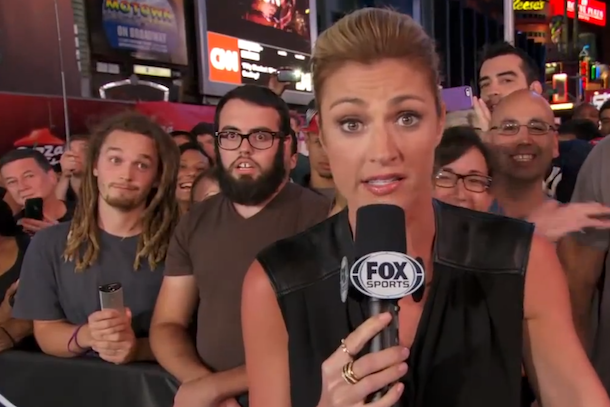 31 erin andrews photobombed by creepy dudes
