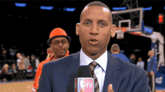 35 spike lee photobombs reggie miller