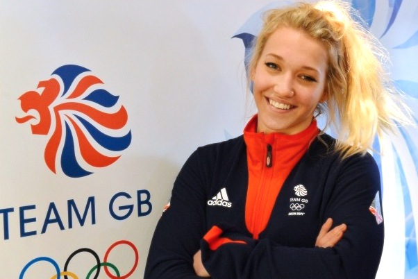 Rowan Cheshire at the kit allocation for the winter Olympics taking place in Russia