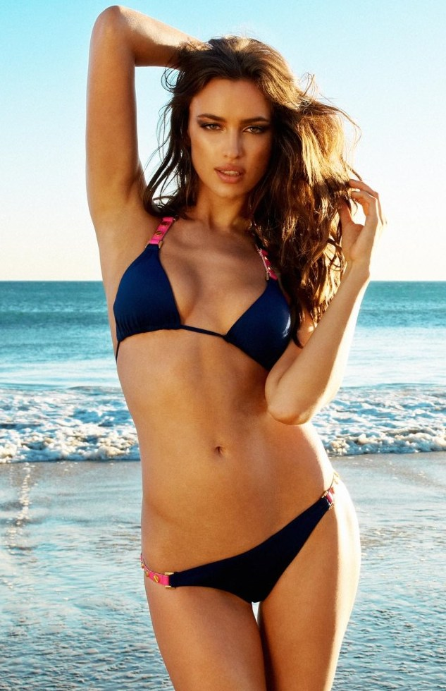 5 irina shayk (cristiano ronaldo) - sports illustrated swimsuit models who dated athletes