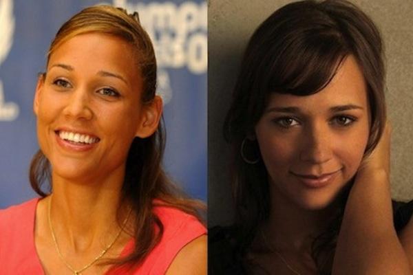 5 lolo jones and rashida jones - sochi 2014 winter olympics athlete celebrity doppelgangers look-alikes