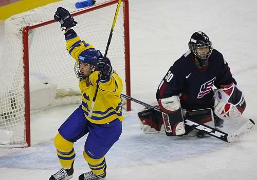 5 sweden beats usa women's olympic hockey 2006 - biggest olympic hockey upsets