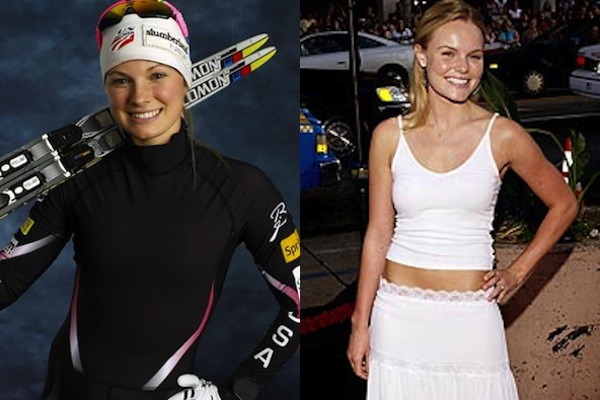 6 jessie diggins and kate bosworth - sochi 2014 winter olympics athlete celebrity doppelgangers look-alikes