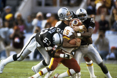 6 super bowl xviii raiders washington - biggest super bowl blowouts