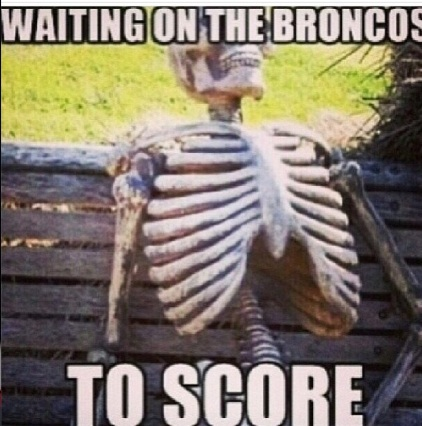 7 waiting score broncos to score - broncos super bowl commercials