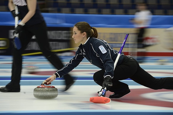 Russian women anna sidorova curling remarkable, rather
