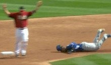 Carl Crawford Dives Face First Into the Dirt (GIF)