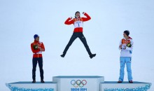 2014 Sochi Olympics: Germany's Eric Frenzel Delivers the Best Podium Celebration of the Games (Photo)