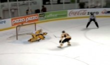 OHL's Henri Ikonen Scores One-Handed Backhand Goal on Penalty Shot (Video)