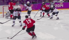 2014 Sochi Olympics: Canada Beats USA 1-0 in Men's Hockey Semi-Final (GIF)