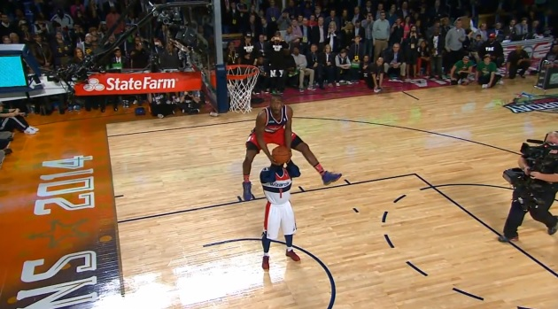John Wall dunk contest
