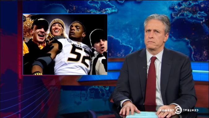 Jon Stewart on Michael Sam
