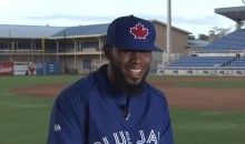 Here's Jose Reyes Rapping With Toronto Reporters (Video)