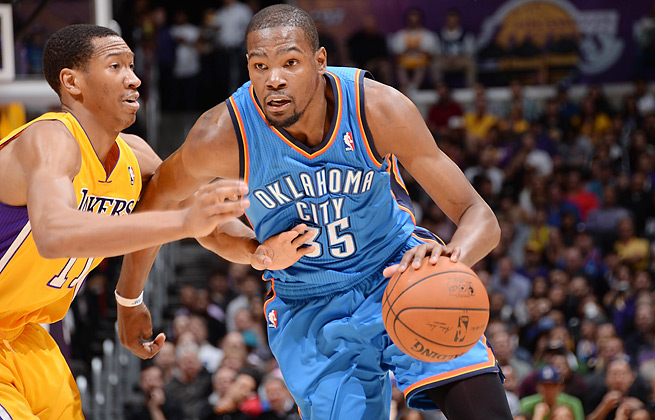 Kevin Durant vs. Lakers