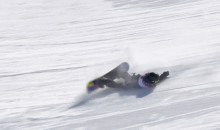 2014 Sochi Olympics: Norwegian Snowboarder Kjersti Buaas Suffers Horrifying Crash During Slopestyle Run (GIF)