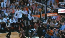 LeBron James One-Handed Alley-Oop Caps Off Impressive Fast-Break for the Heat (Video)