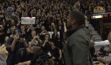 Michael Sam Gets Standing Ovation at Missouri Basketball Game (Video)