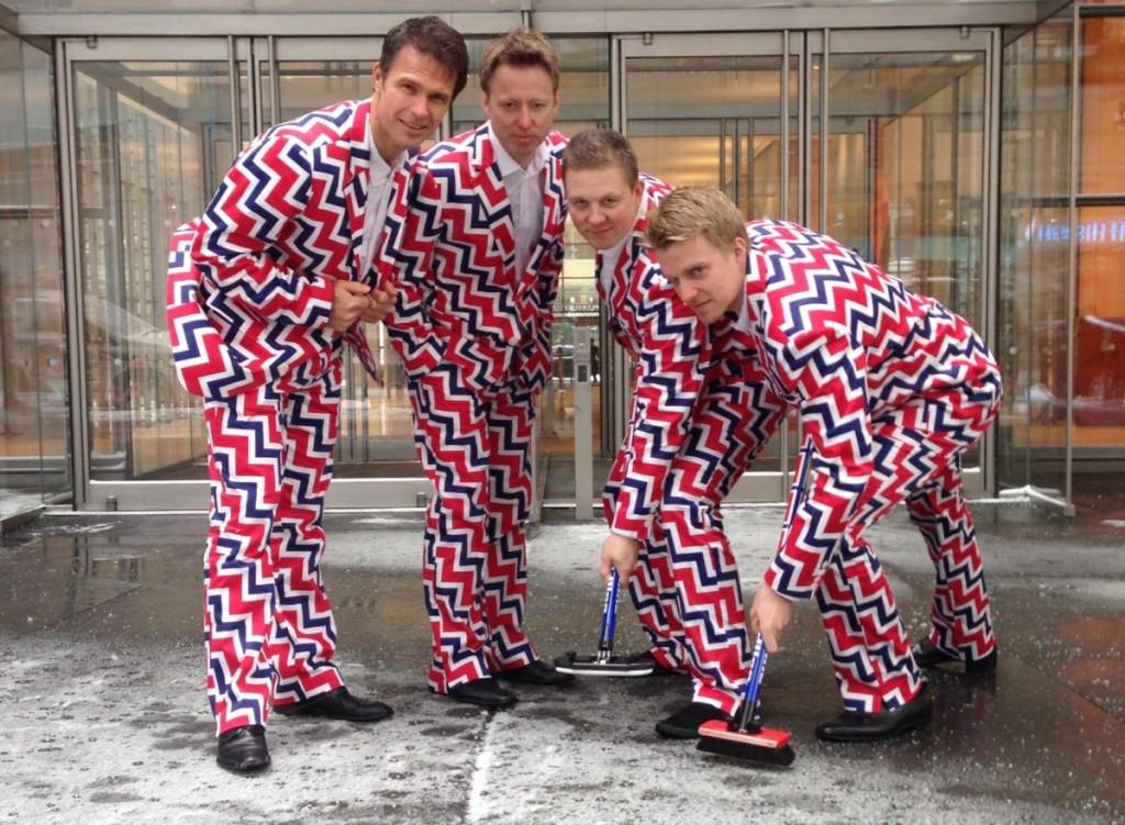 Norway men's curling team uniforms 1