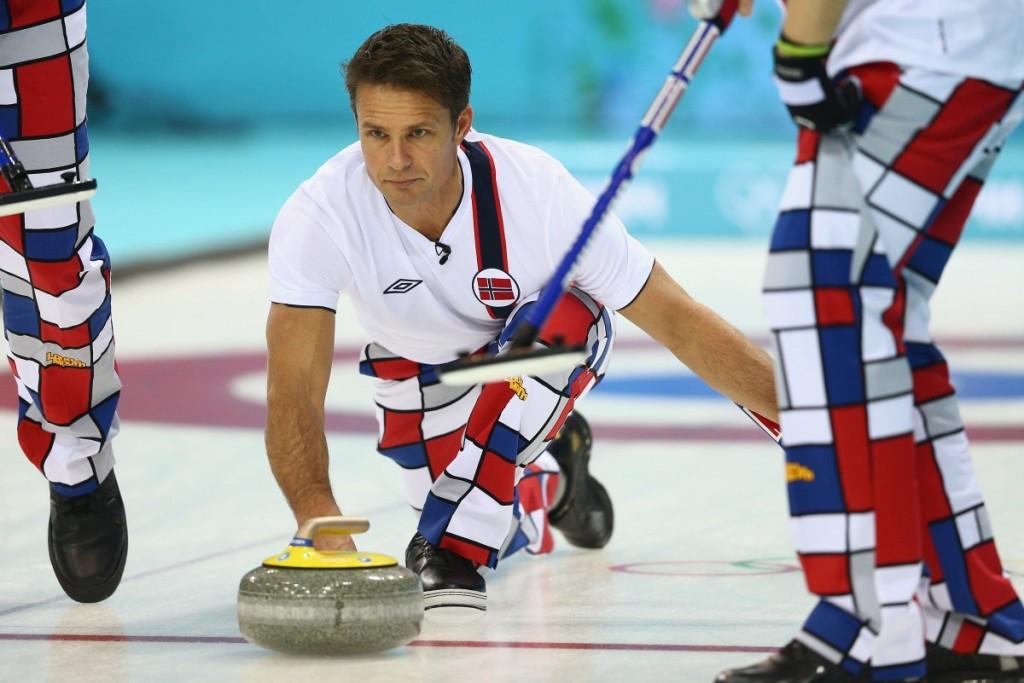 Norway men's curling team uniforms 2