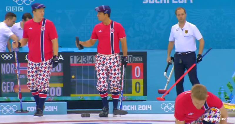 Norway men's curling team uniforms 3
