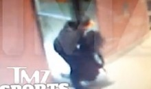 Here's Footage of Ray Rice Dragging His Unconscious Fiancee Out of an Elevator After Attack (Video)
