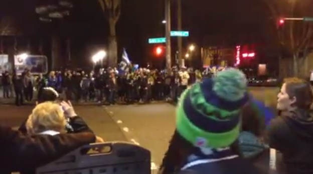 Seahawks fans won't jaywalk