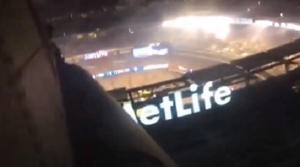 Super Bowl XLVIII helicopter flyover