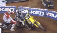 Check Out This Motocross Cheapshot (Video)