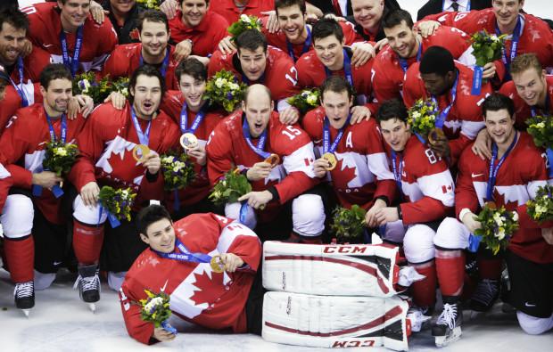 Team Canada hockey gold