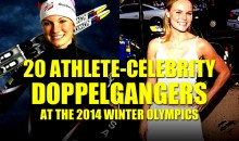 21 Athlete-Celebrity Doppelgangers at the 2014 Winter Olympics