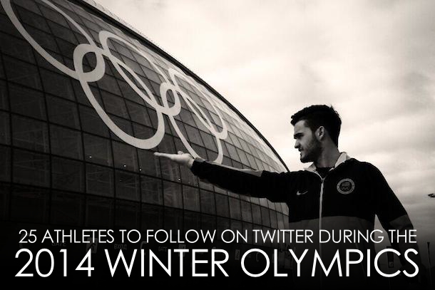 athletes to follow on twitter during 2014 winter olypics