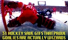 31 Hockey Save GIFs that Prove Goalies Are Actually Wizards