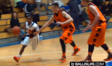 This 4'11″ Eight Grade Basketball Prodigy's Ball-Handling Skills Are Off the Charts (Video)