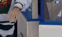 Minnesota Wild Defenseman Clayton Stoner Mangles Hand in Fight (GIF + Pics)