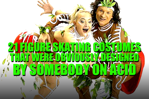 craziest figure skating costumes all-time