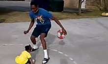 Dude Breaks Baby Girl's Ankles in the Most Hilarious Vine You'll See All Day (Video)