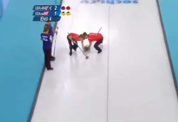 david attenborough curling commentary