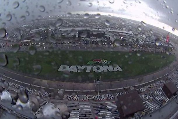 daytona 500 rain delay