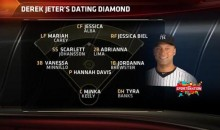 In Honor of Derek Jeter's Retirement, SportsNation Gives Us the Jeter 'Dating Diamond' (Pic)