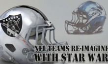 NFL Team Helmets Re-Imagined With Star Wars… EPIC! (Pics)